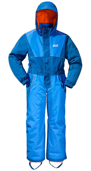 Jack Wolfskin Polar Wolf Snowsuit Kids brilliant blue